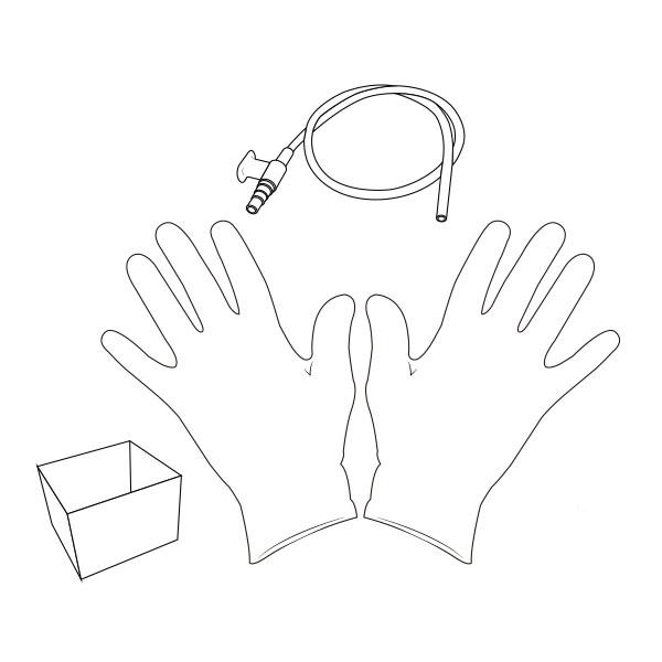 Suction Catheter Kit   10 Fr RTG-02110