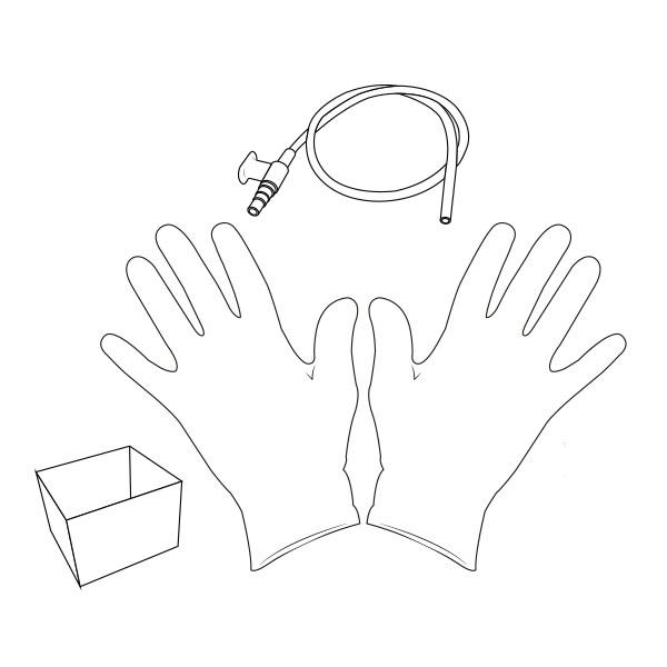Suction Catheter Kit   12 Fr RTG-02112