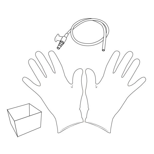 Suction Catheter Kit   14 Fr RTG-02114