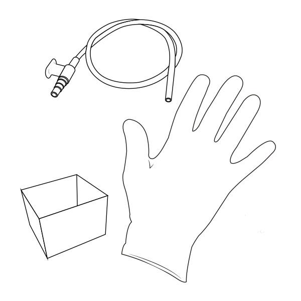 Suction Catheter Kit   10 Fr RTG-02210