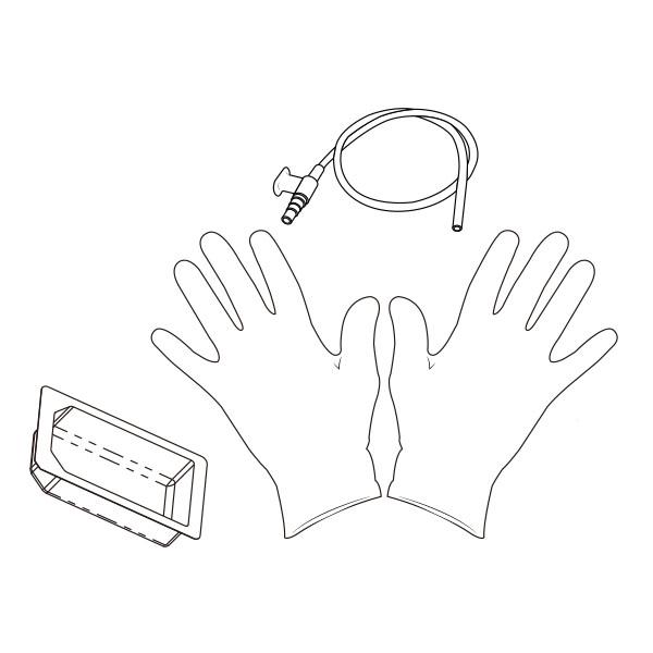 Suction Catheter Kit   10 Fr RTG-02410