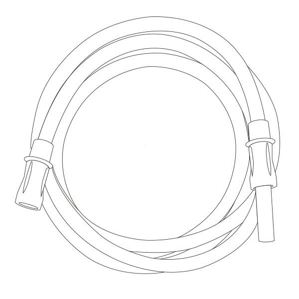 """Suction Connecting Tubing   1/4"""" X 10' RTG-03001"""