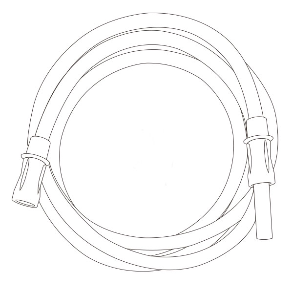 """Suction Connecting Tubing   1/4"""" X 12' RTG-03002"""