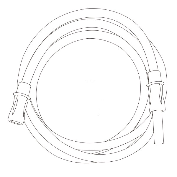 """Suction Connecting Tubing   1/4"""" X 20' RTG-03003"""