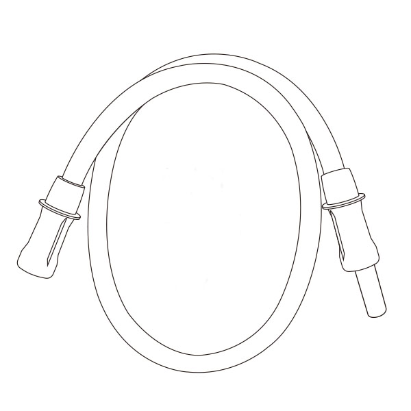 """Suction Connecting Tubing   3/16"""" X 18"""" RTG-03008"""