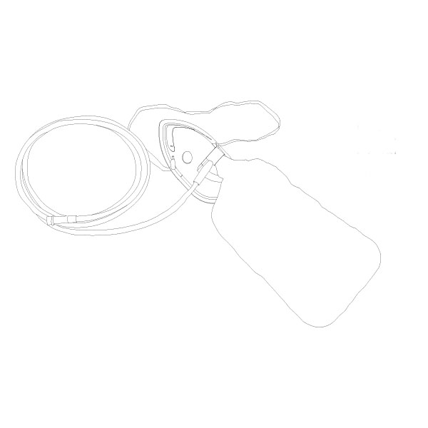 Non - Rebreather Mask PED RTG-04005