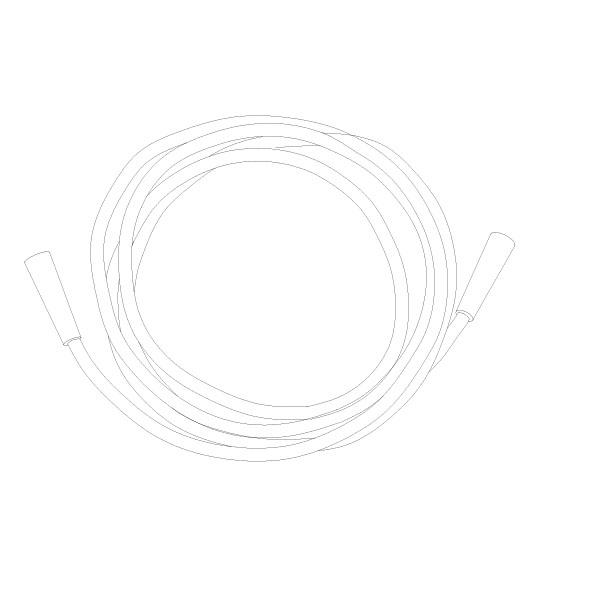Oxygen Tubing 40' Standard Connector RTG-06007