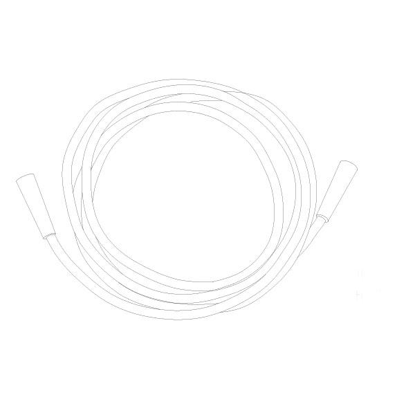 Oxygen Tubing 50' Standard Connector RTG-06008