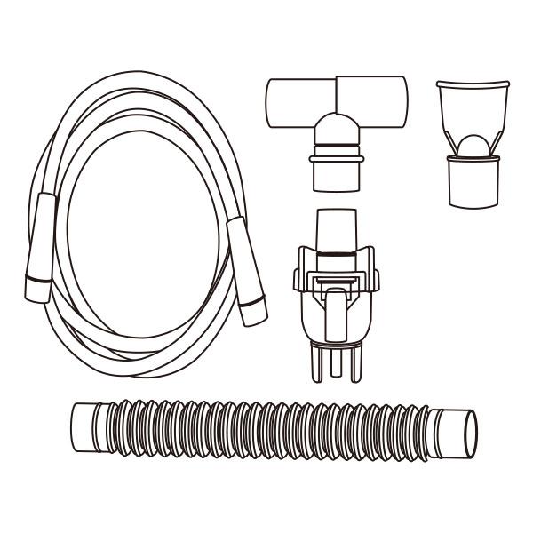 Hand Held Nebulizer Kit Standard Connector RTG-07103