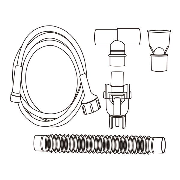 Hand Held Nebulizer Kit Universal Connector RTG-07104
