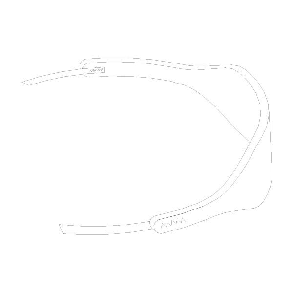 Tracheostomy Tube Holder Small 1/DZ RTG-08000