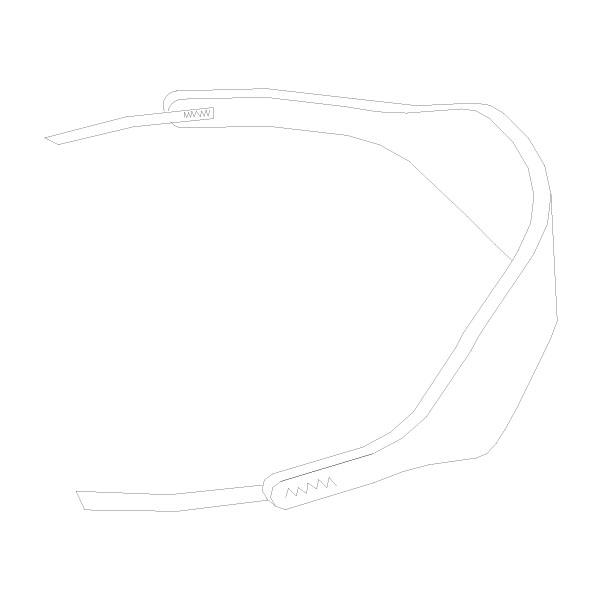 Tracheostomy Tube Holder Medium [Bulk] RTG-08005